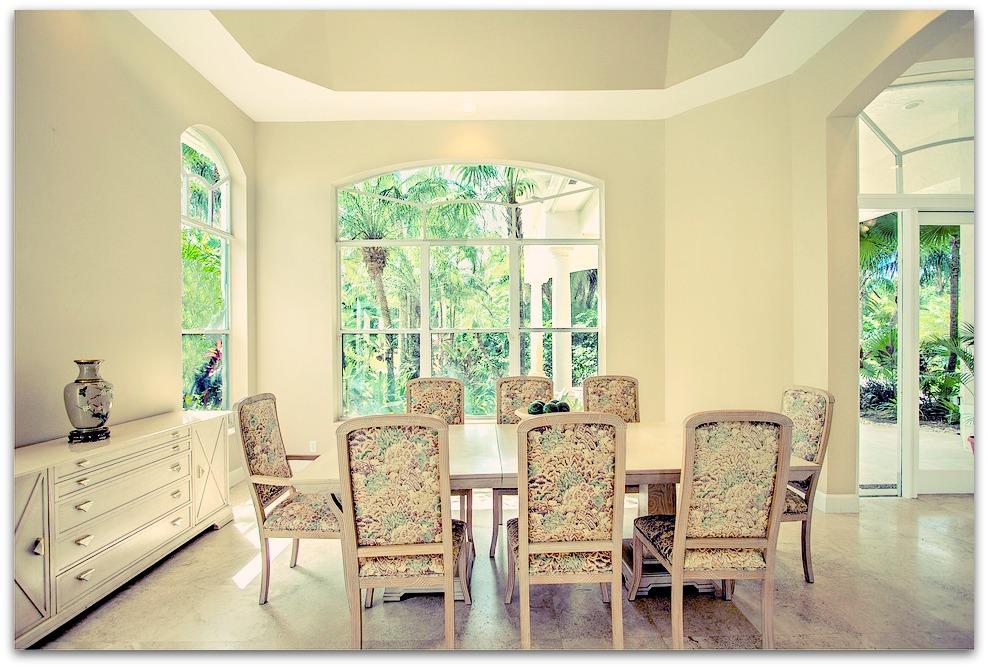 La salle à manger : un lieu où il fait bon vivre
