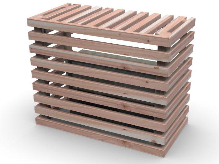 wood air conditioner